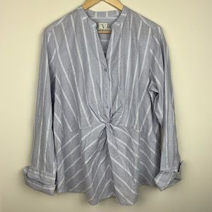 A New Day Popover Blouse